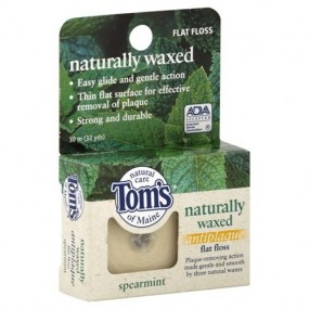 Tom's of Maine flat floss