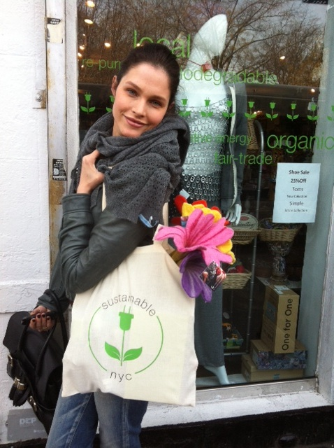 Lonneke at Sustainable NYC