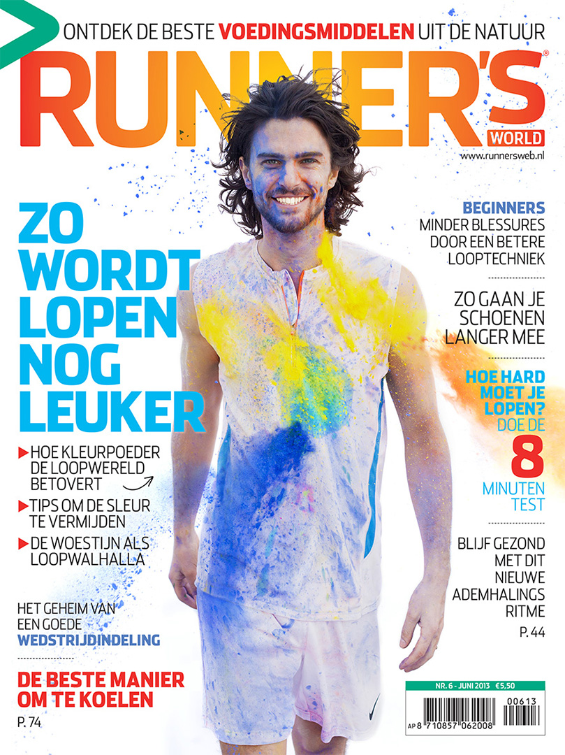 Runner's World cover Marius Hordijk